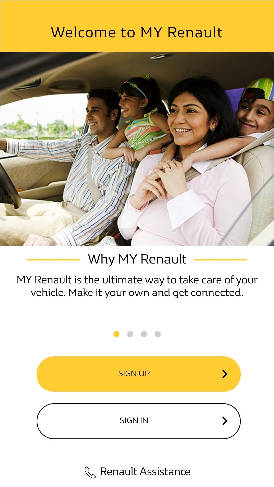 renault launches customized app platforms for to enhance customer experience india whispers. Black Bedroom Furniture Sets. Home Design Ideas