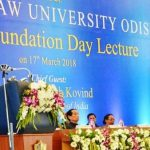 President Kovind Delivers National Law University, Odisha's Third Foundation Day Lecture- 2018