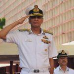 Eastern Naval Command Chief Vice Admiral Karambir Singh Visits Sainik School