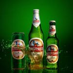 Kingfisher Beer, Black Dog and Budweiser three top most trusted alcoholic beverage brands