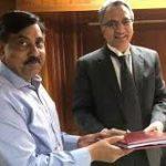 ToR for Mahanadi Tribunal: Union Water Resources Secretary UP Singh hands over reference of Mahanadi Water Disputes to Tribunal Chairman