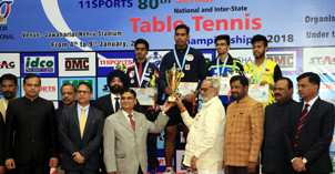 National TT Championships: Achanta Kamal lifts National Title for Men's Singles, Archana Women's Singles Title