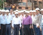 Rourkela Steel Plant feat in wagon loading