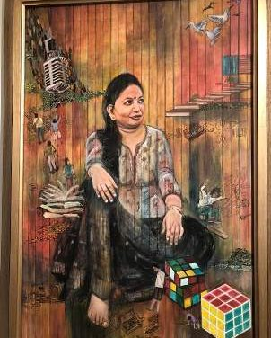 A portrait of an artist: Archana Singh's selfie