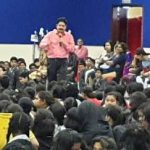 Eminent writer Ramendra Kumar in Sharjah Children's Fest