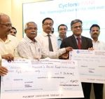 Vizag Steel contributes Rs 1.40 crore to CM Relief Fund 
