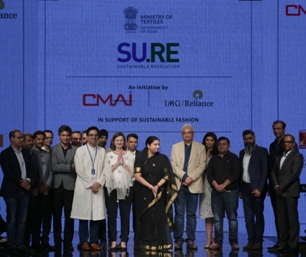 Smriti Irani launches project Su.Re at Lakme Fashion Week