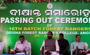 After 22 years Odisha govt. recruits 96 forest rangers
