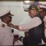 First Odia coast guard officer Anwar Khan gets decorated with Pesident Gallantry Medal