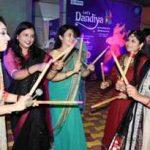 BJD young woman brigade dance to Dandia Raasa beats
