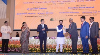 Nalco bags National CSR Awards for Lali initiatives