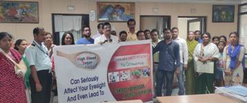 Diabetic patients get tips how to prevent diabetic blindness in ESI Hospital
