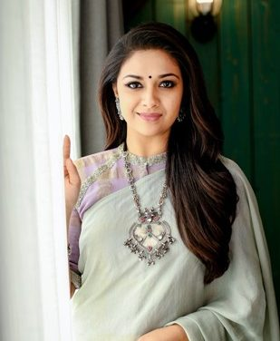 National Film Award winner actress Keerthy Suresh Usha International's brand ambassador