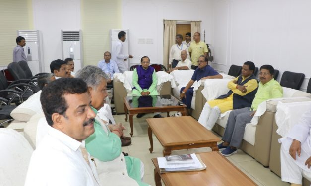 Odisha Assembly speaker takes meeting of House Committee heads ahead of winter session