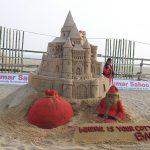 Sand artist Manas Sahoo's Christmas message…