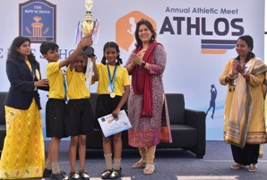 The BIPF School organises Athlos, Olympiad and celebrates 71st Republic Day