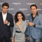 Actress Sanya launches Longines' Conquest Classic collections in city ahead of Valentine's Day