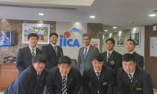 JICA's Japanese  rugby coaches to train Odisha school players