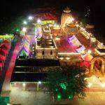 Odisha: Ganjam's Tara Tareni temple illuminated for Chaitra Parva