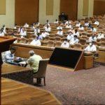 Odisha Assembly proceedings under COVID-19 shadow