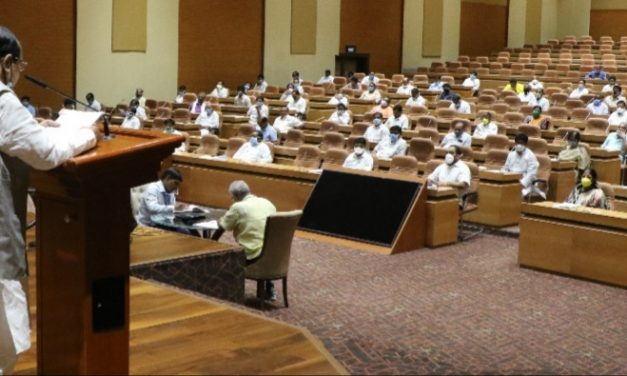 Odisha Assembly proceedings under COVID-19 shadow