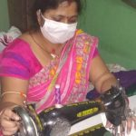 Tata Steel BSL supported Women SHG makes masks to combat  COVID-19