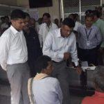 Odisha chief secretary & CM's secretary visit COVID-19 hot spots