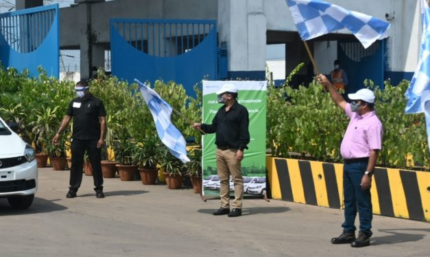 Tata Steel BSL deploys first commercial electric cars in Odisha at its plant in Dhenkanal