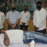Biju Yuva Janata organises blood donation camp