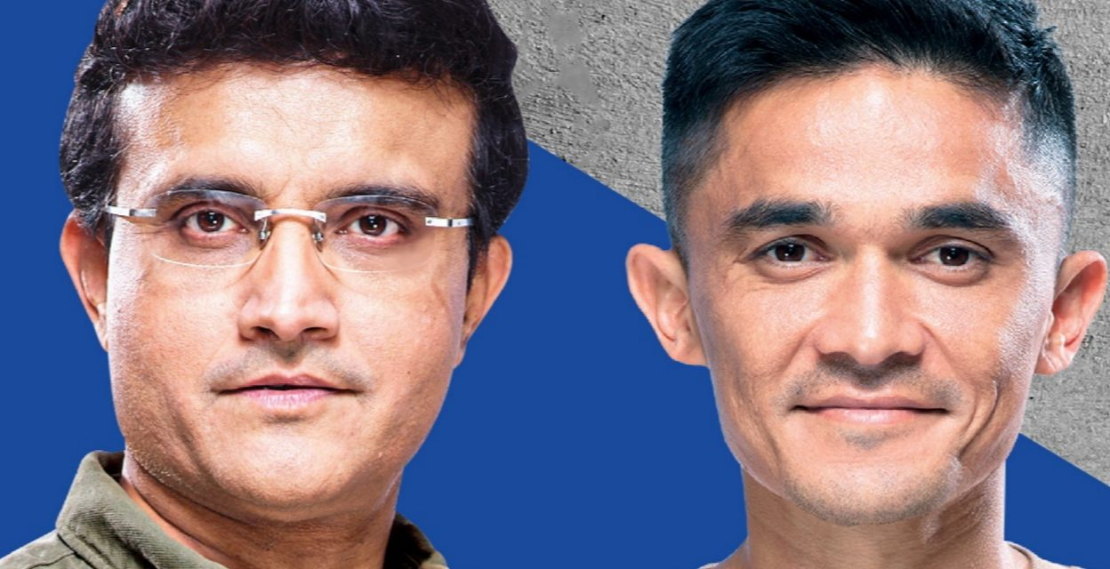 JSW Cement unveils campaign with Sourav Ganguly & Sunil Chhetri