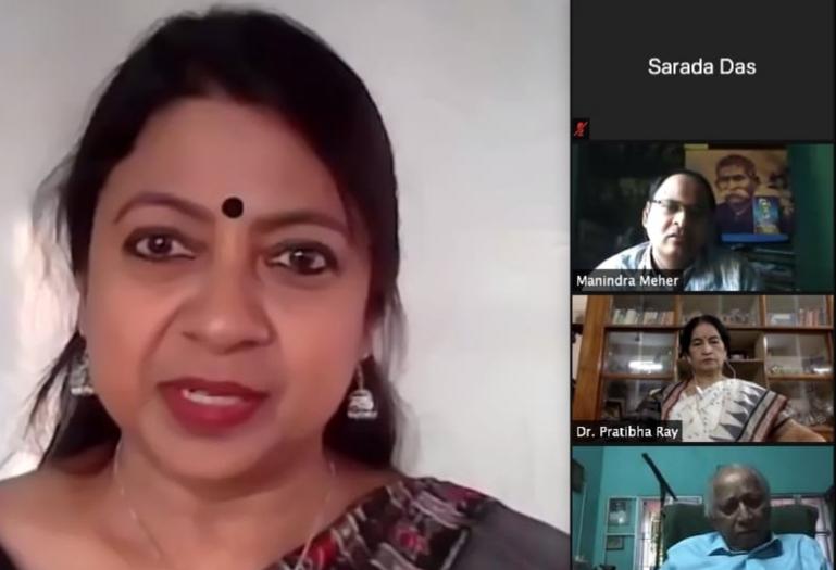 Odia Samaj Webinar on 'Odia Bhasha O Sahitya: Kichhi Drusti, Kichhi CHINTA'