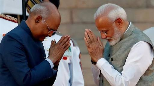 PM Modi meets President: Briefs on security position