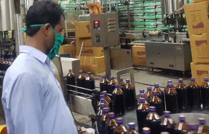 Bengal Chemicals  achieves a record PRODUCtion of over 50,000 pheneol bottles a day