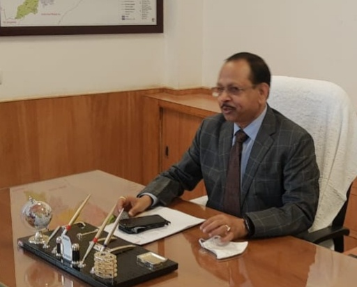 New Development Commissioner Pradip Jena assumes charge today