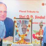 JSPL Barbil observes OP Jindal birth anniversary