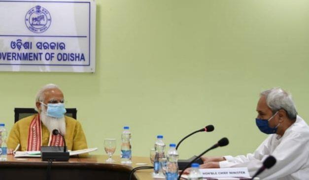 PM Modi reviews cyclone Yaas impact along with Odisha governor and CM