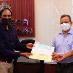 Oman Odia Association donates to CMRF