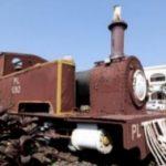 Century old heritage steam loco at Puri BNR Hotel restored by ECo Railway