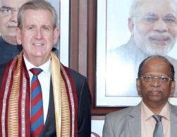 Australian high commissioner visits Nalco