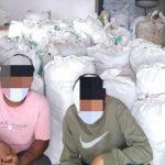 Odisha's Jeypore Police seized over 1000 kgs of Ganja