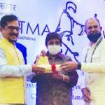JSPL Foundation honoured with Mahatma Award
