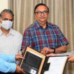 NTPC Bhubaneshwar Corporate Communication Executive superannuates