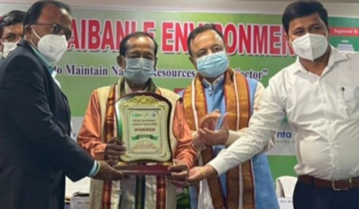 JSPL's TRB Mines Bags Kalinga Environment Excellence Award
